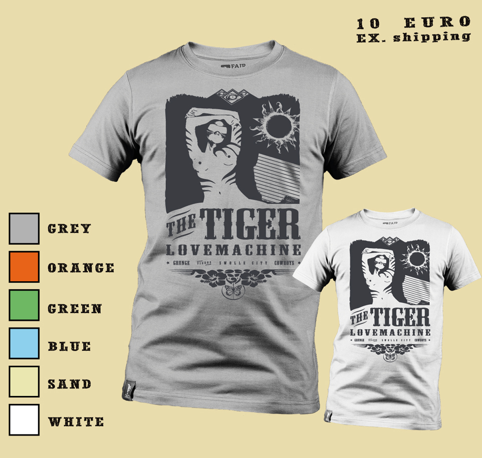 T-SHIRT - The Tiger Lovemachine